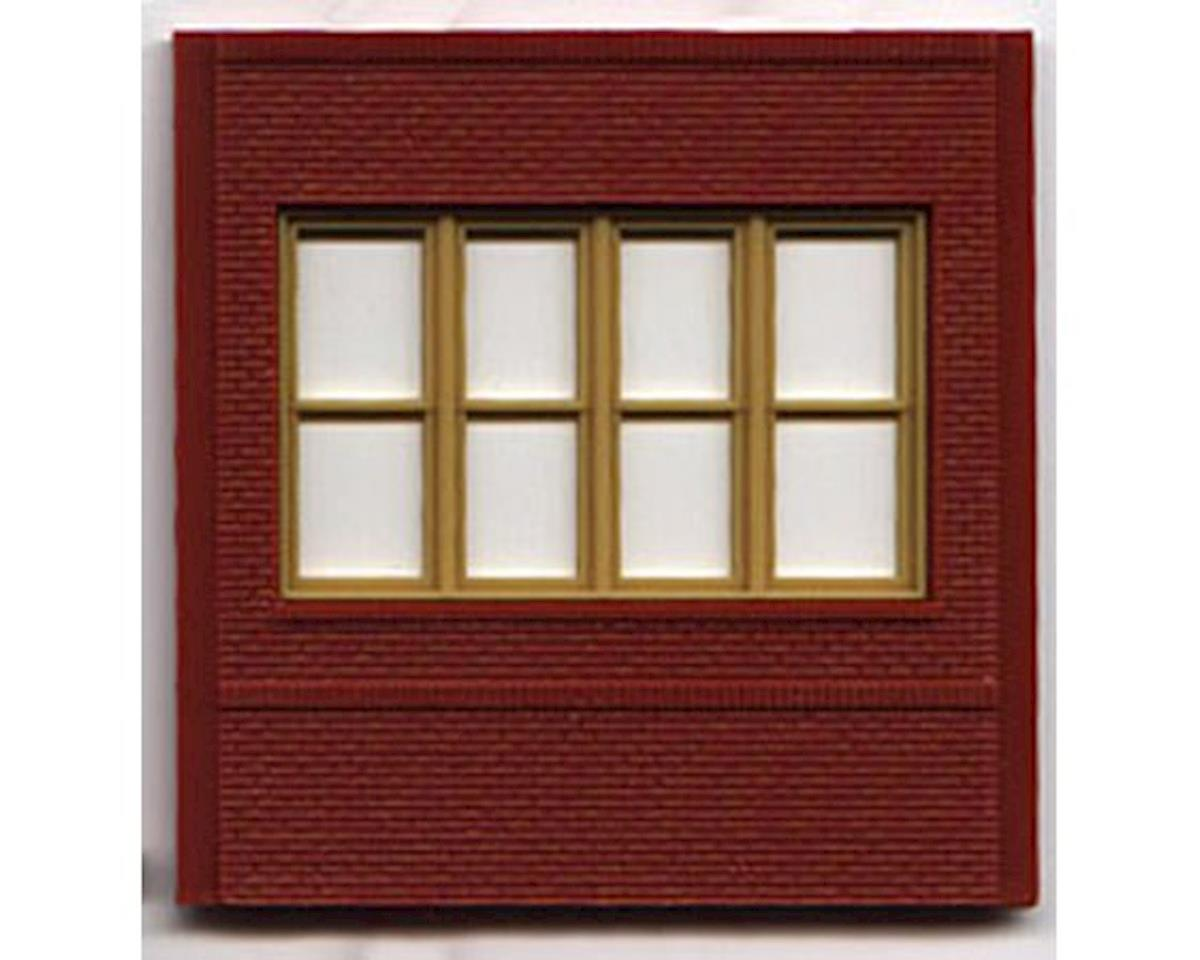 Woodland Scenics HO DPM Dock Level Victorian Window (4)