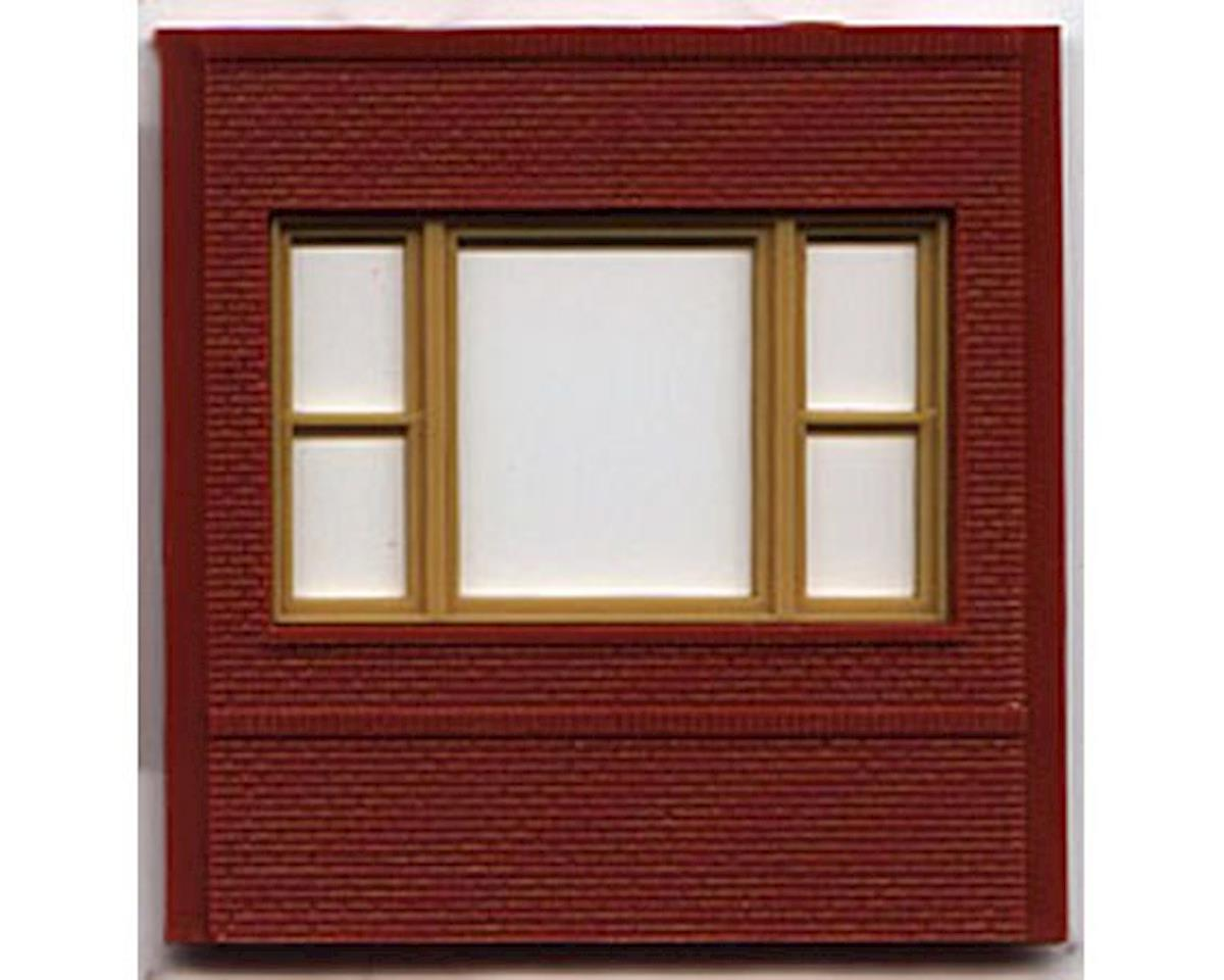 Woodland Scenics HO DPM Dock Level 20th Century Window (4)