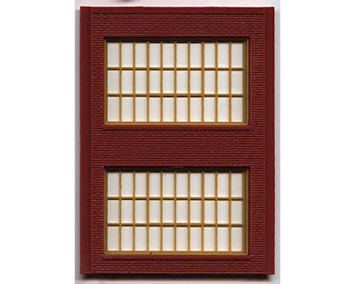 Woodland Scenics HO DPM 2 Story Steel Sash Window (4)