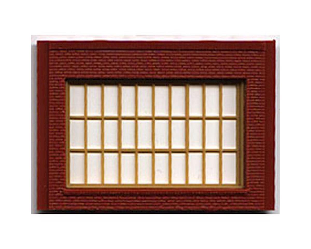 Woodland Scenics 1 story steel sash window