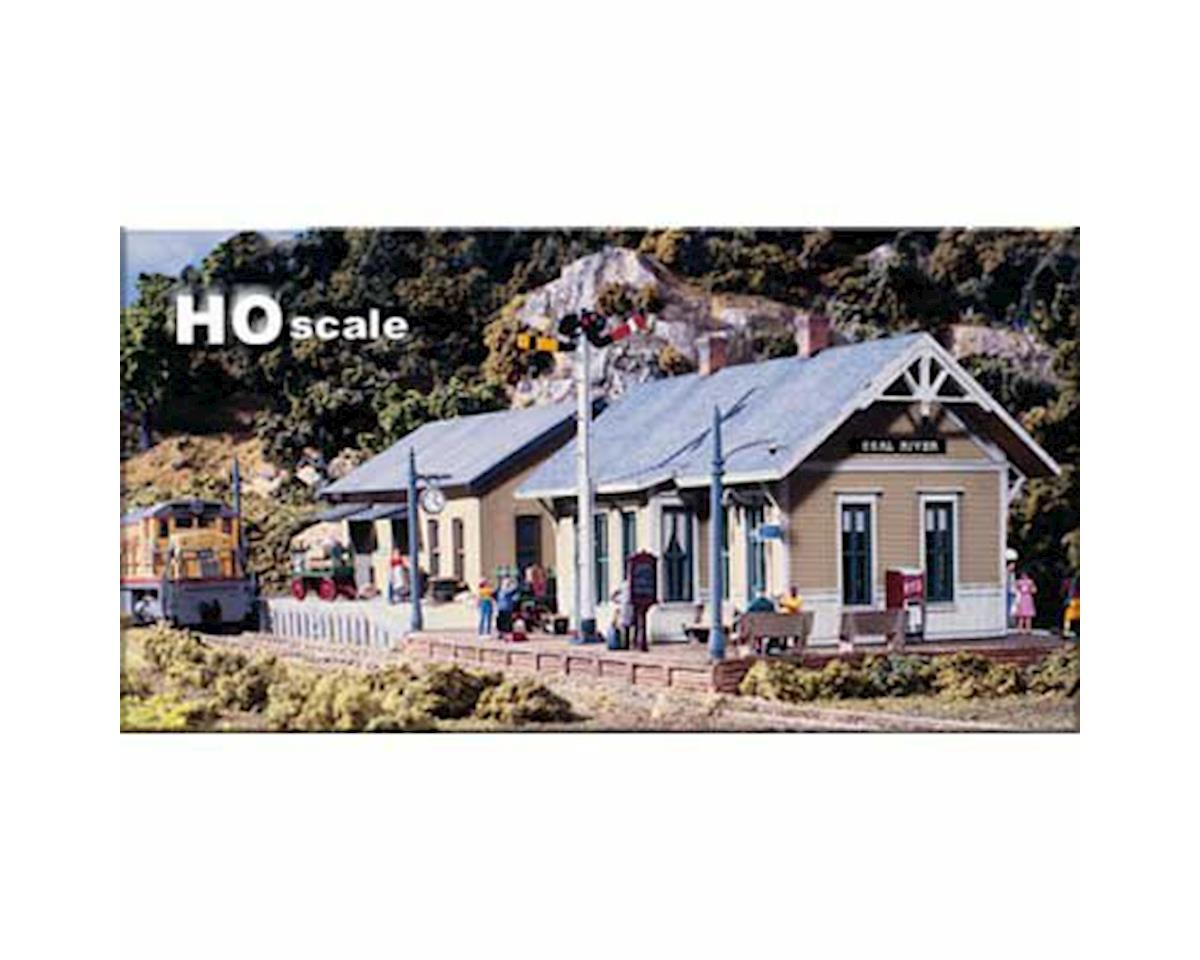 Woodland Scenics HO KIT DPM Gold Coal River Passenger Depot