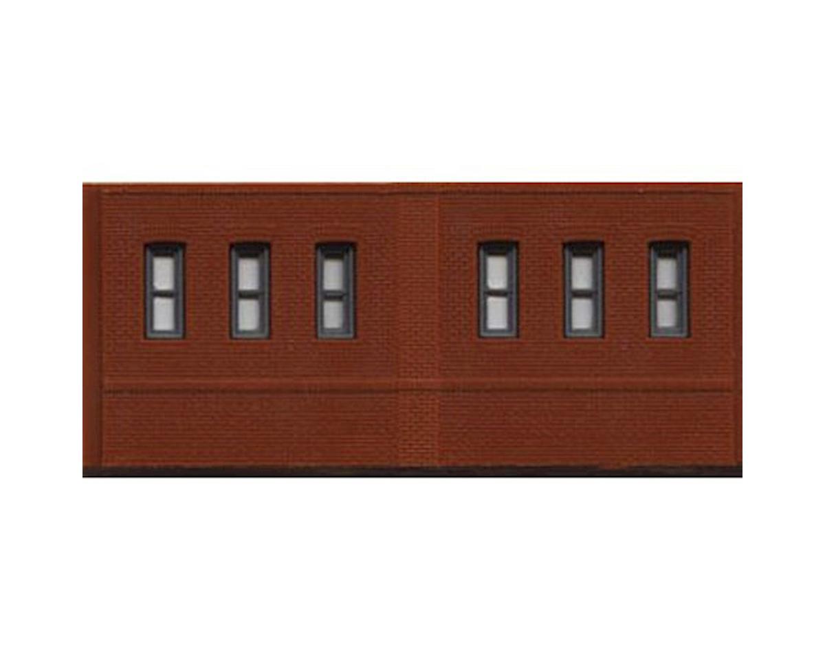 Woodland Scenics N DPM Dock Level Window Wall (3)