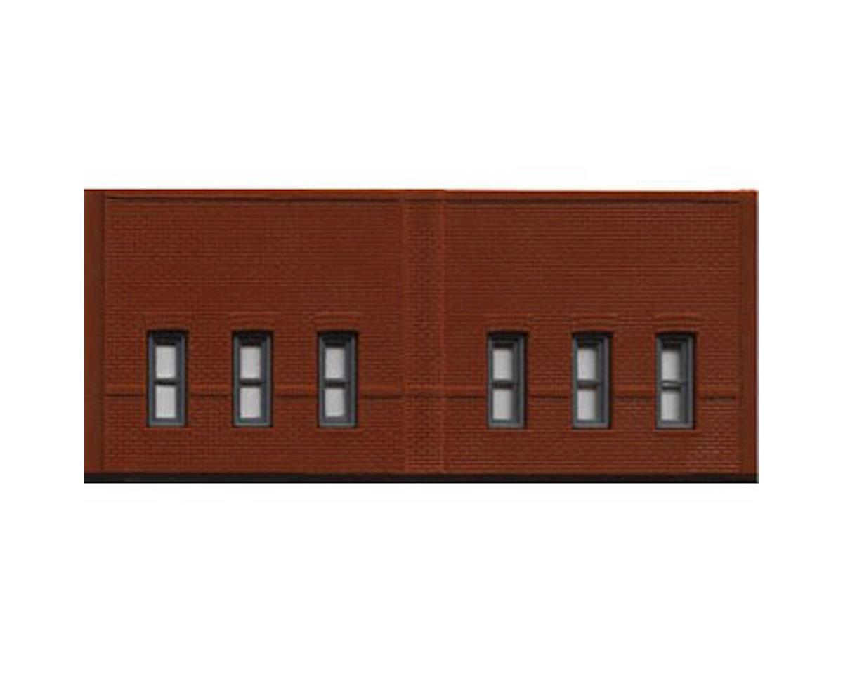 Woodland Scenics N DPM Street Level Window Wall (3)