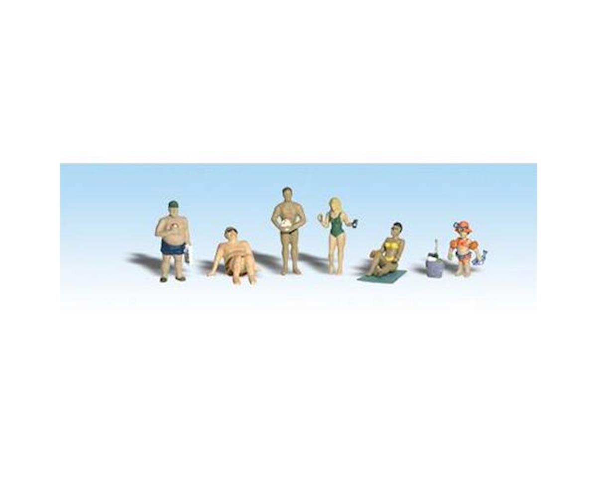 HO Sun Bathers by Woodland Scenics