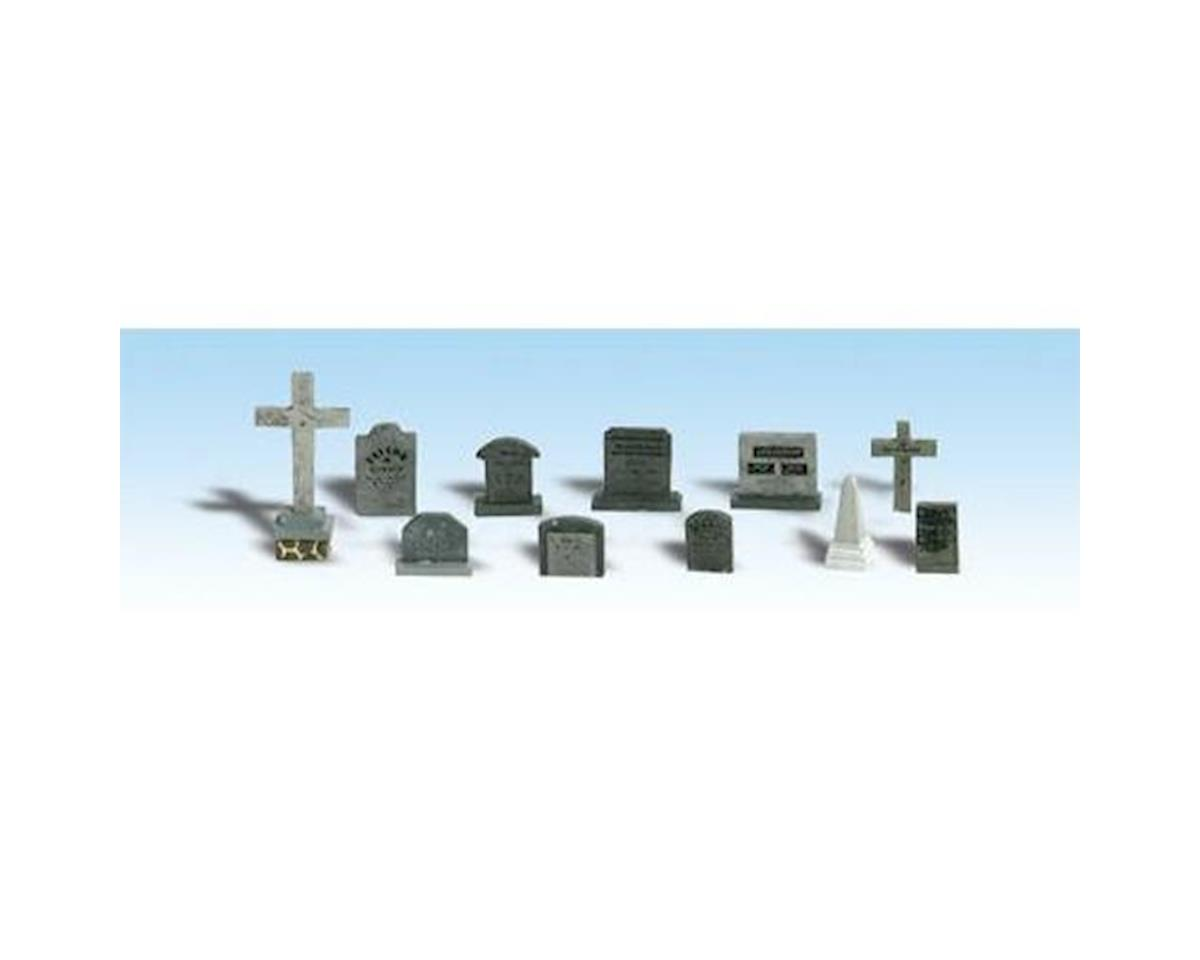 HO Tombstones by Woodland Scenics