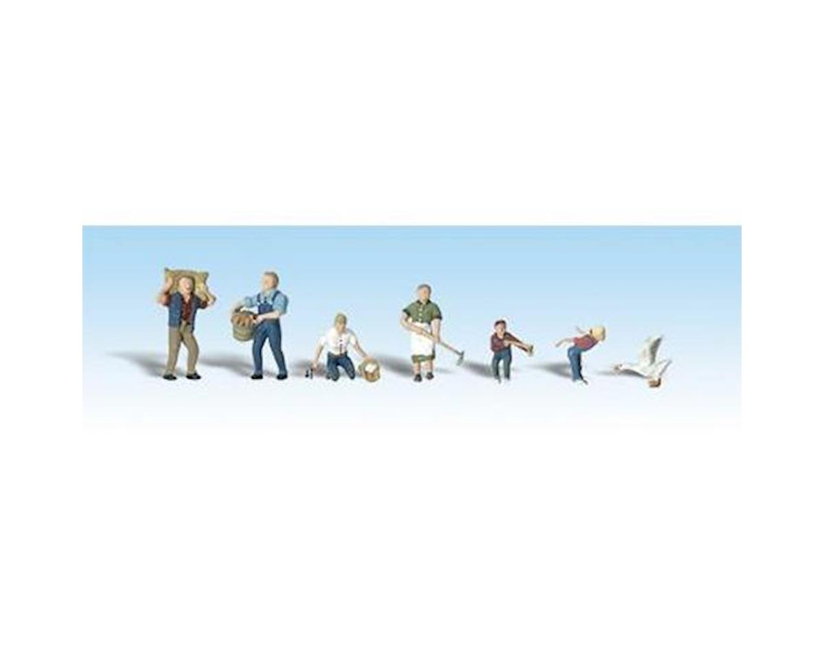 HO Farm People by Woodland Scenics