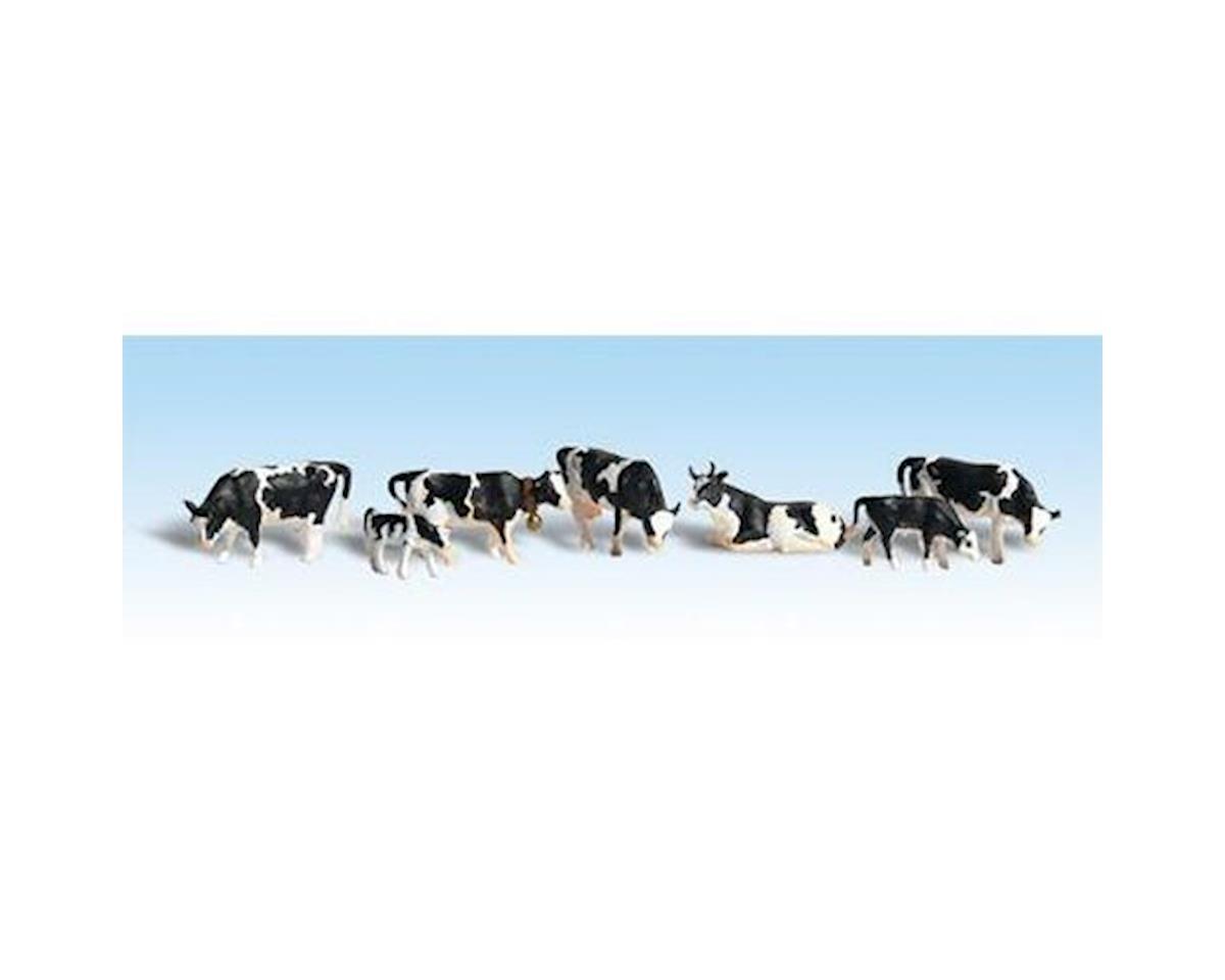 Woodland Scenics HO Holstein Cows