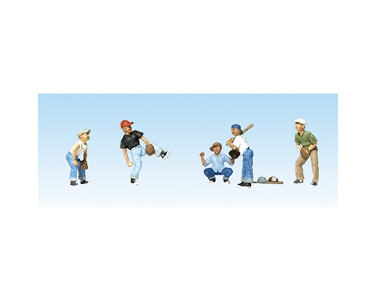 Woodland Scenics HO Baseball Players I