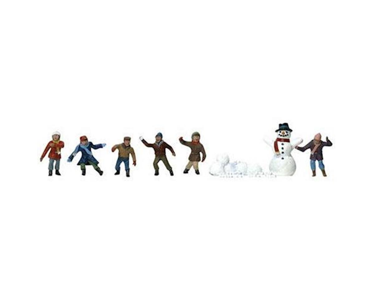 Woodland Scenics HO Snowball Fight | relatedproducts