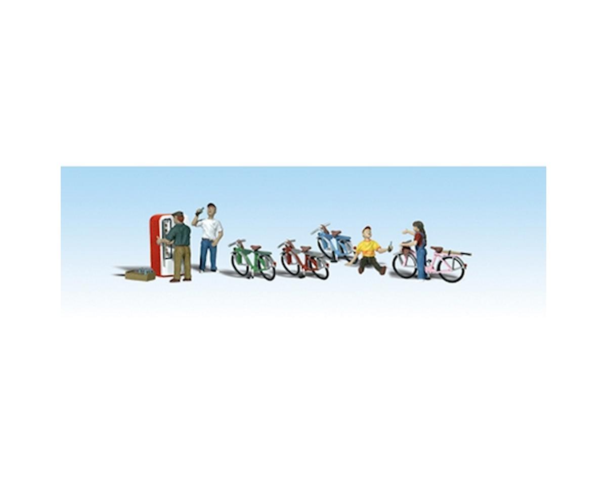 Woodland Scenics HO Bicycle Buddies