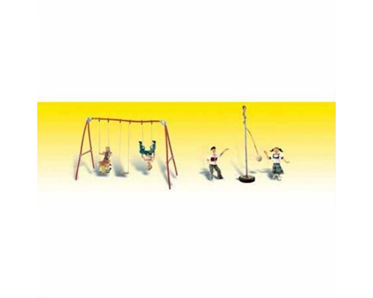 HO Playground Fun by Woodland Scenics