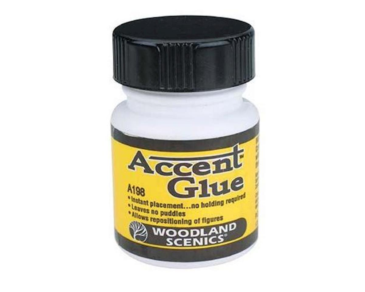 Accent Glue, 1.25 oz by Woodland Scenics