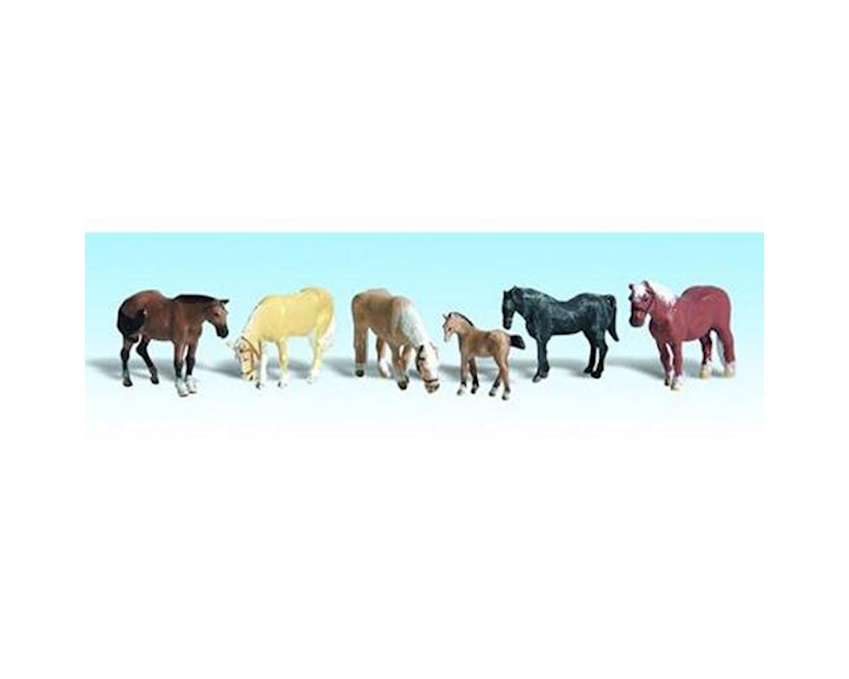 Woodland Scenics N Farm Horses