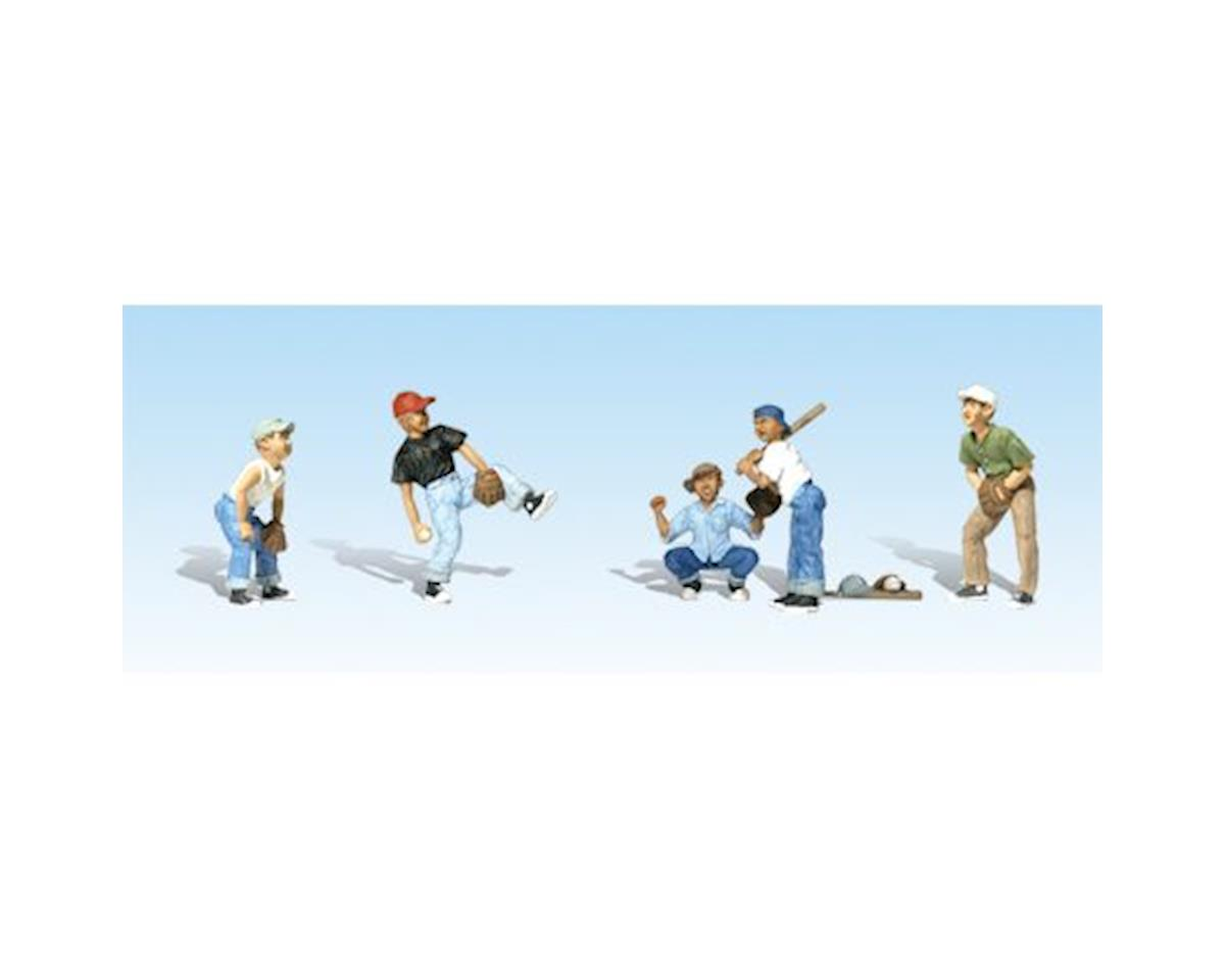Woodland Scenics N Baseball Players I