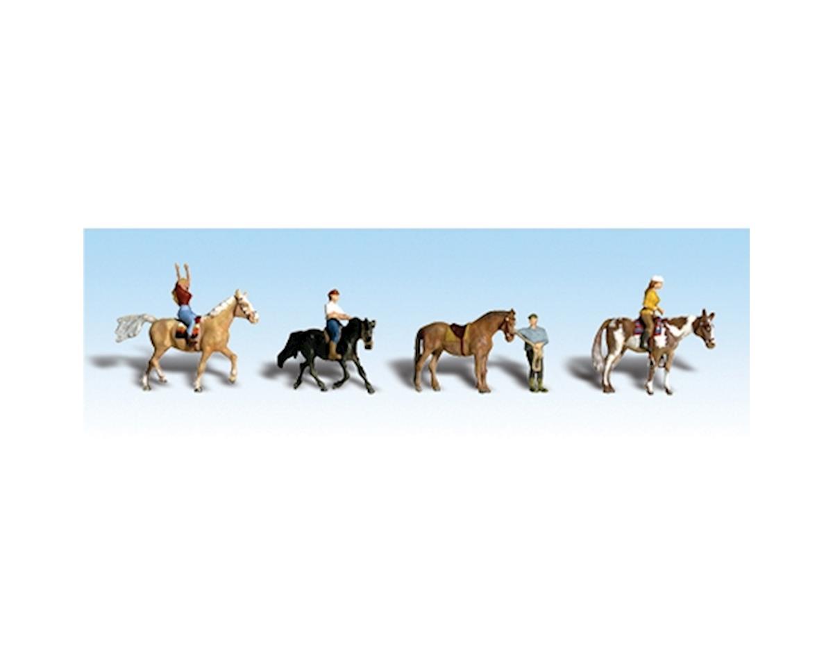 Woodland Scenics N Horseback Riders