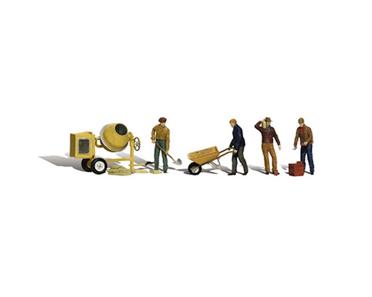 Woodland Scenics N Masonry Workers