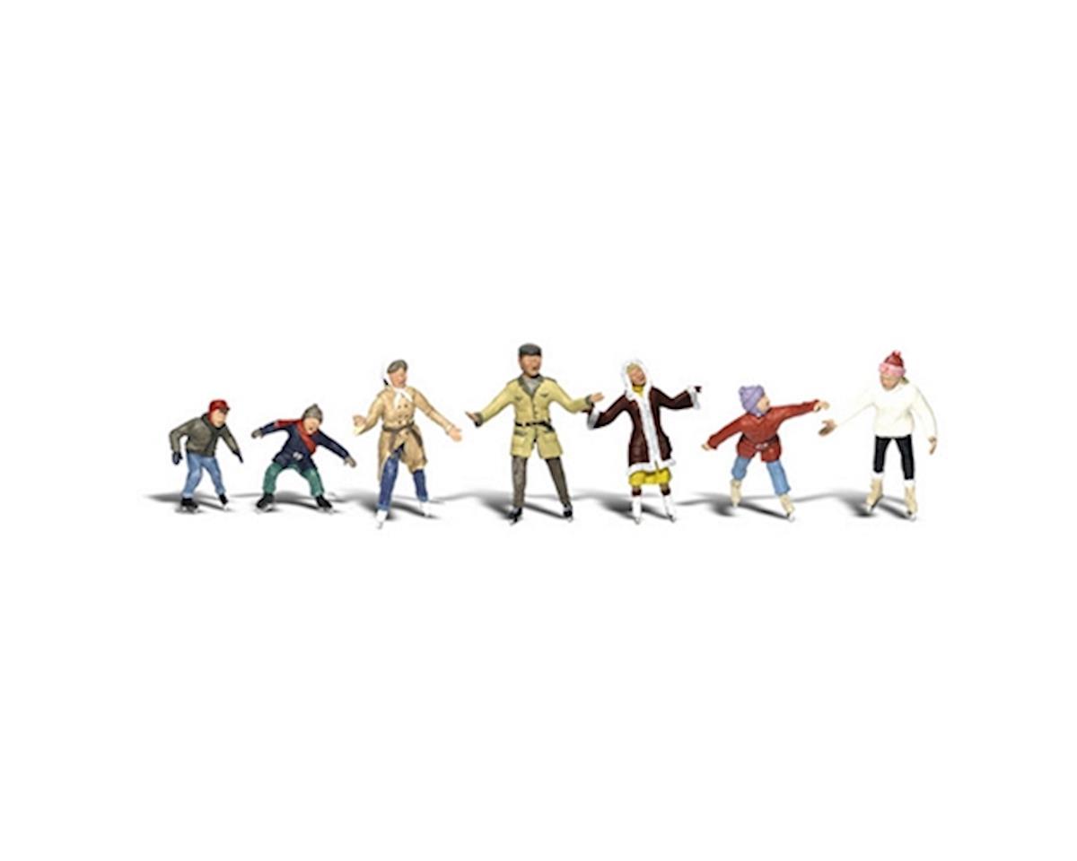 Woodland Scenics N Ice Skaters