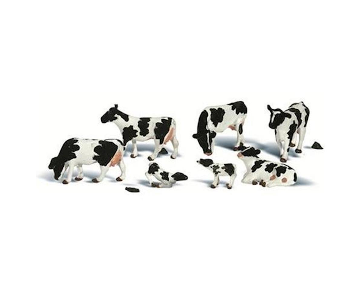 Woodland Scenics N Holstein Cows