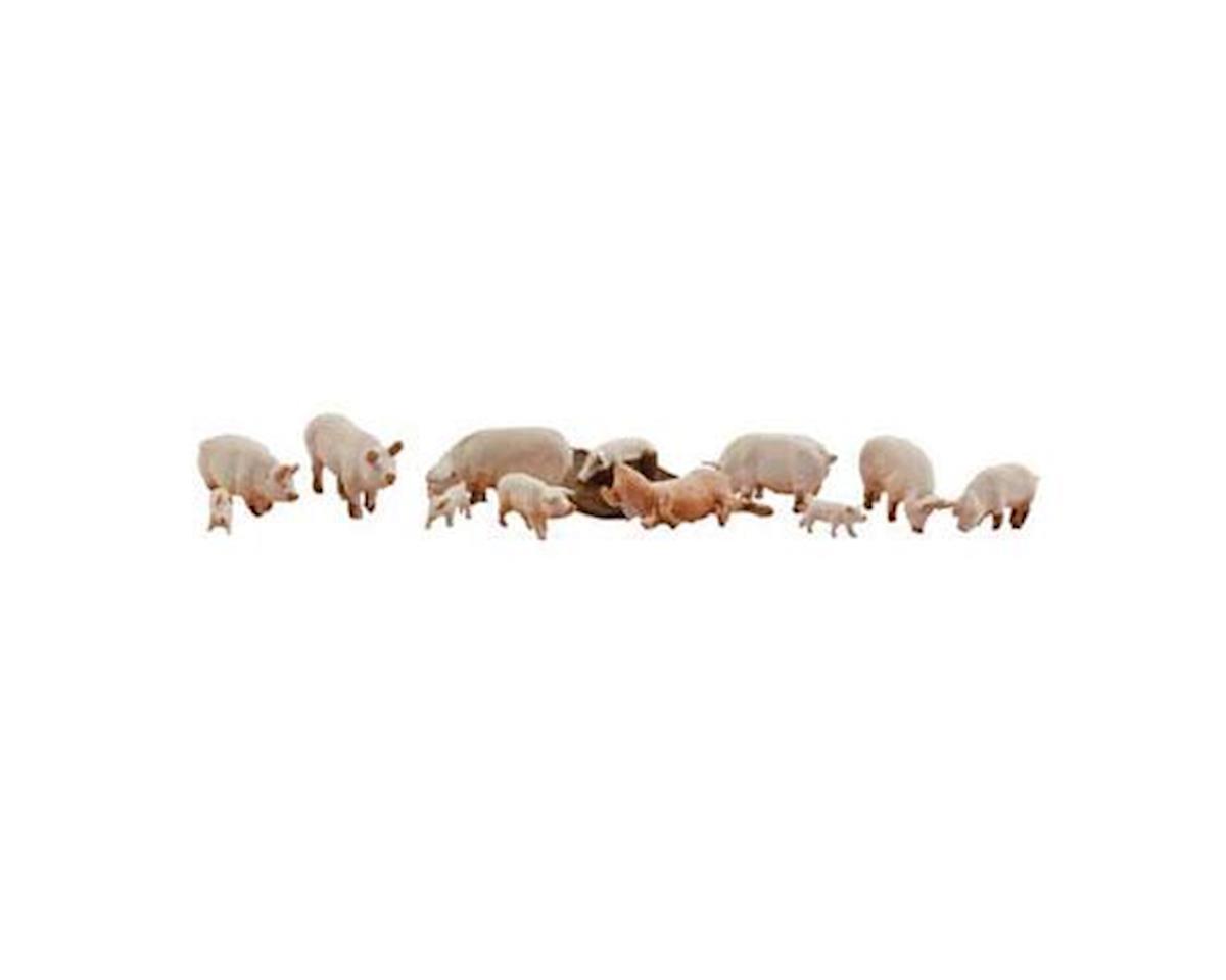 Woodland Scenics N Yorkshire Pigs