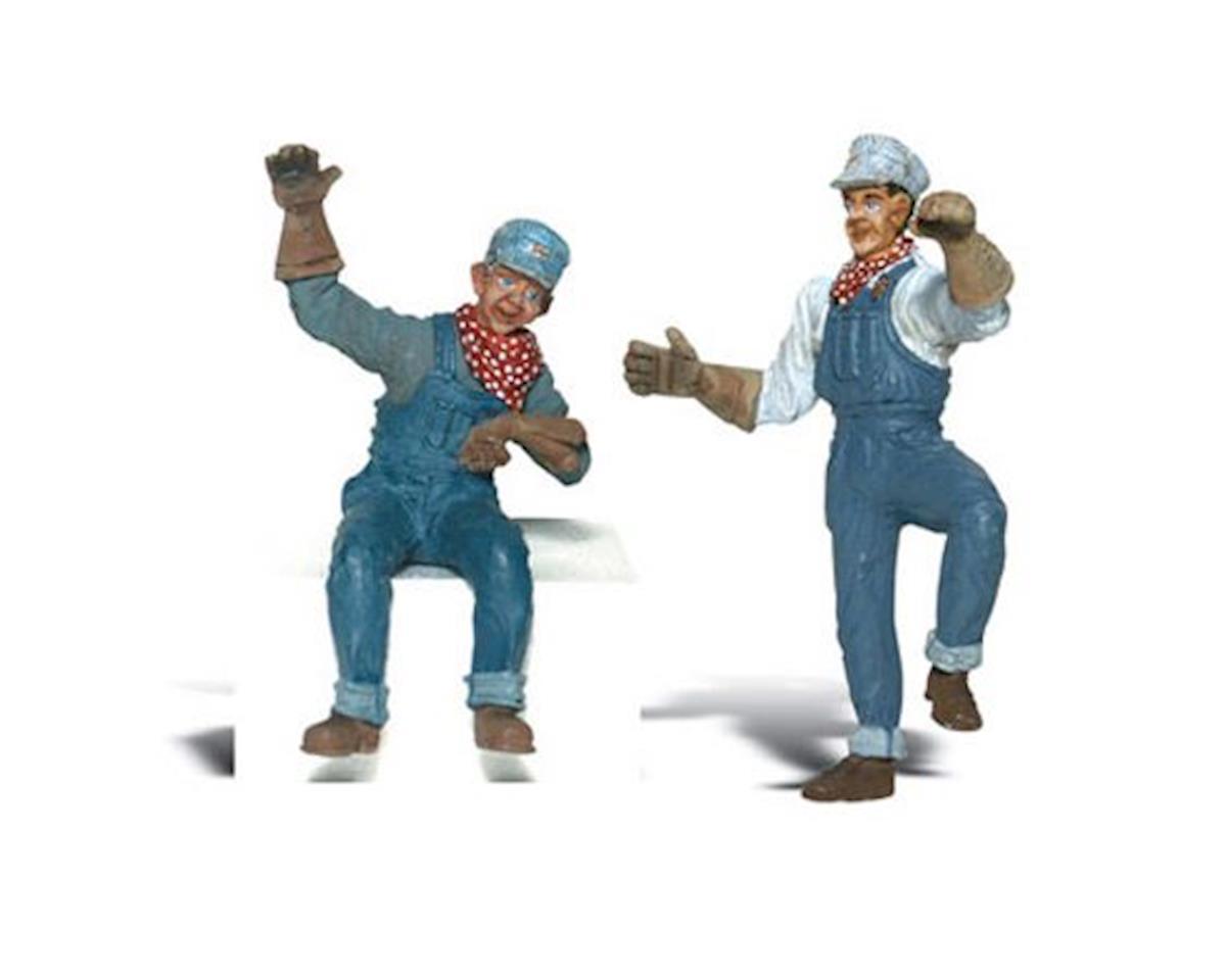 Woodland Scenics G Earl & Eddy Engineer