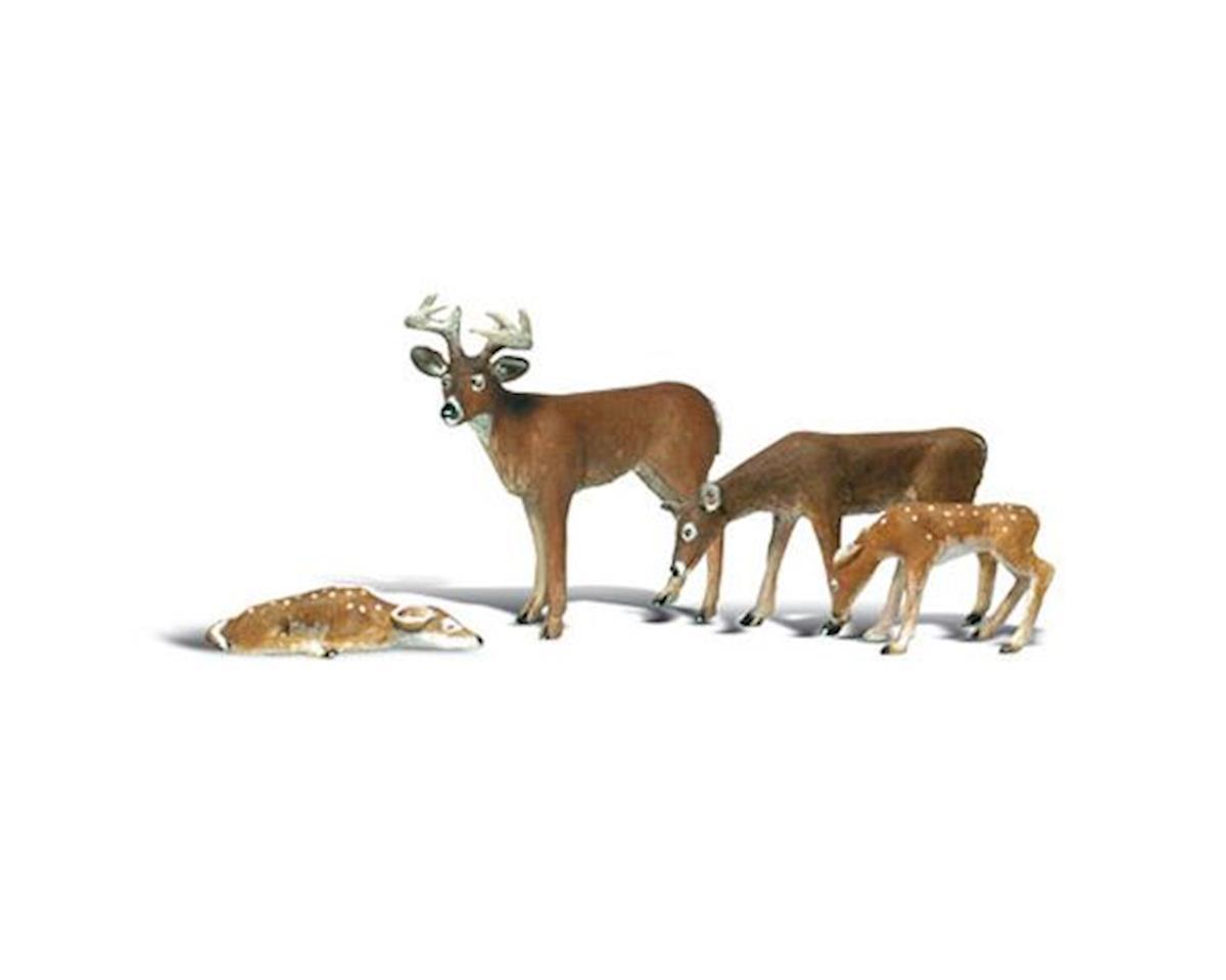 Woodland Scenics G Buck & Family