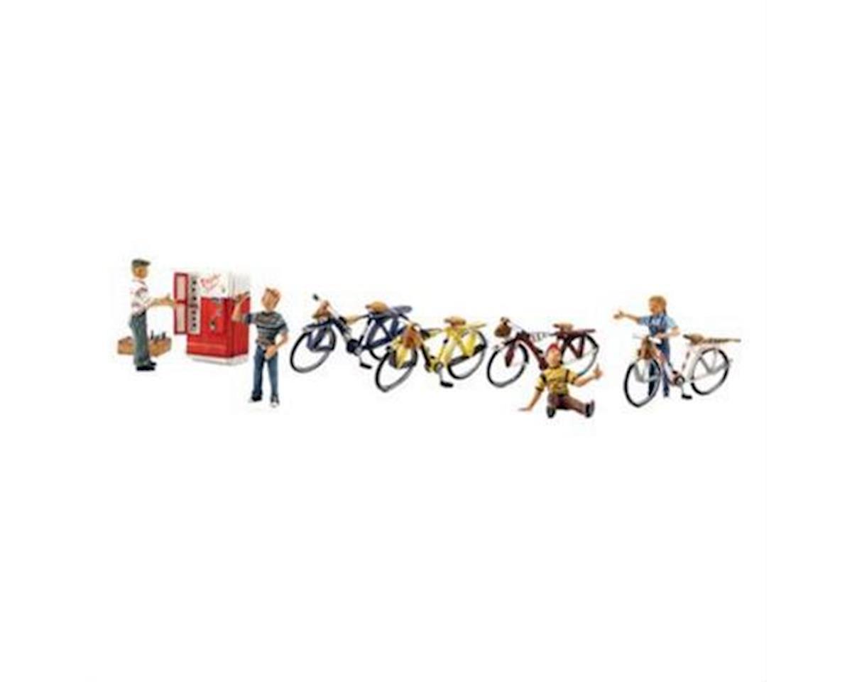 Woodland Scenics O Bicycle Buddies