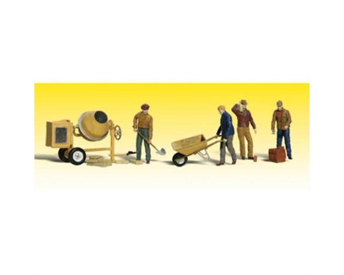 Woodland Scenics O Masonry Workers