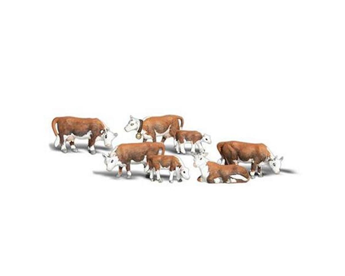 O Hereford Cows by Woodland Scenics