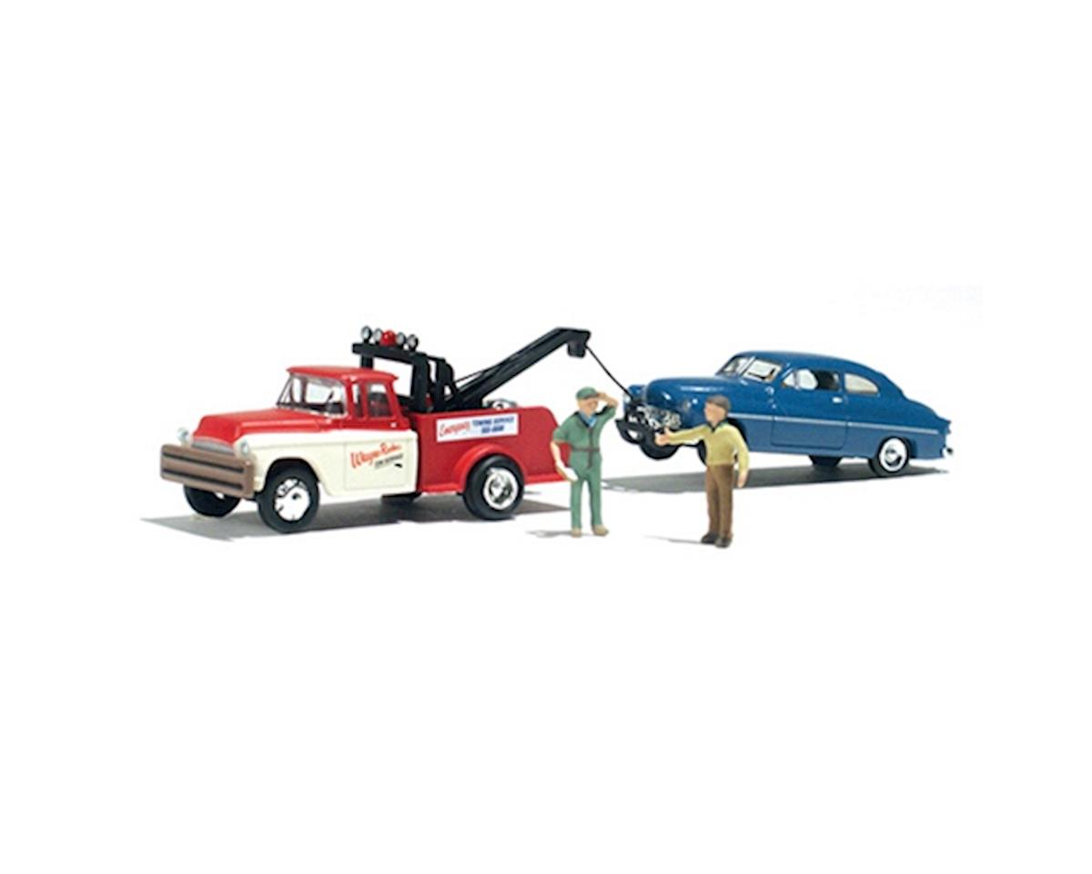 N Wayne Recker's Tow Service by Woodland Scenics