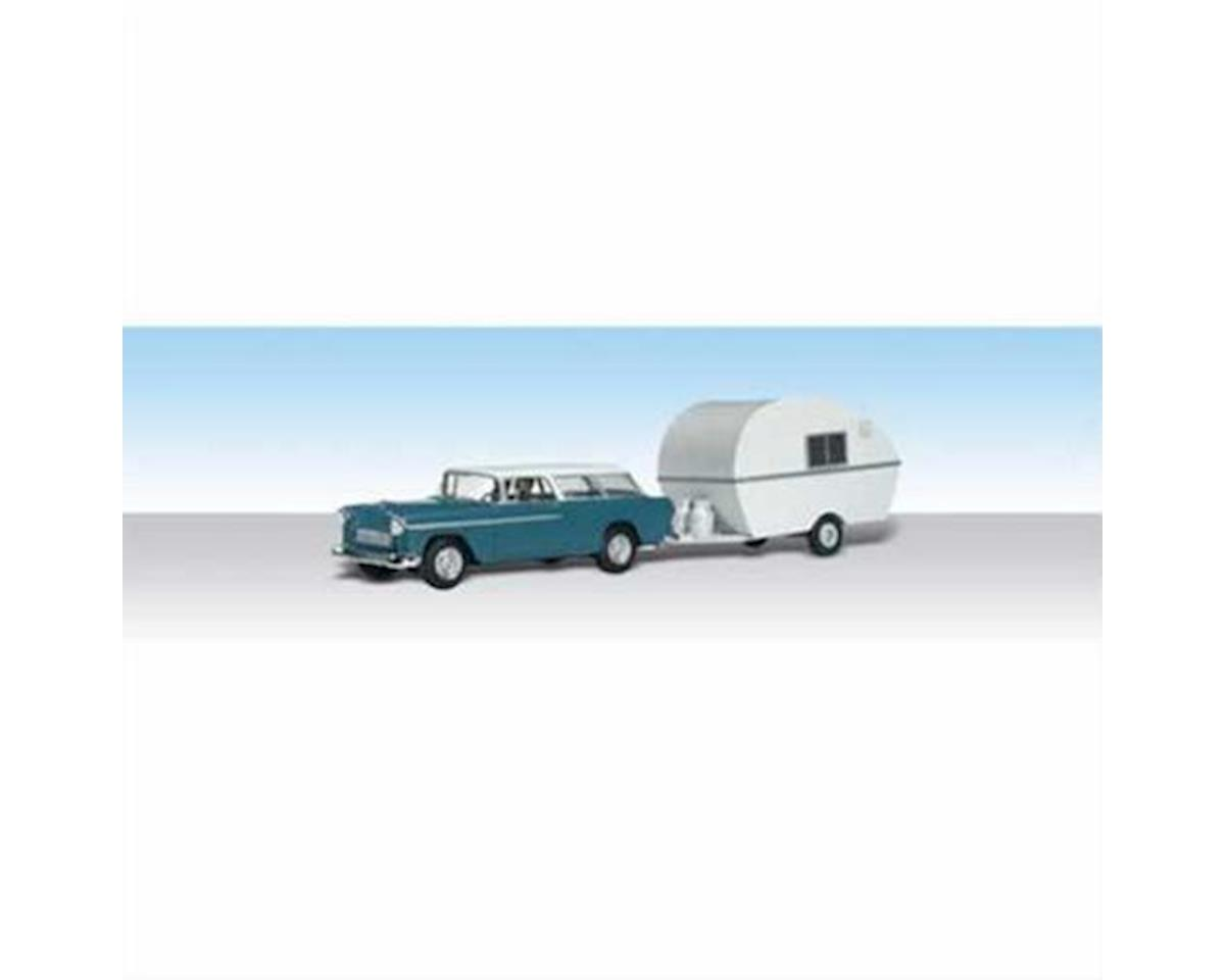 N Thompson's Travelin' Trailer by Woodland Scenics