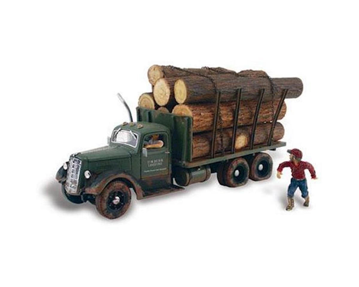 N Tim Burr Logging by Woodland Scenics