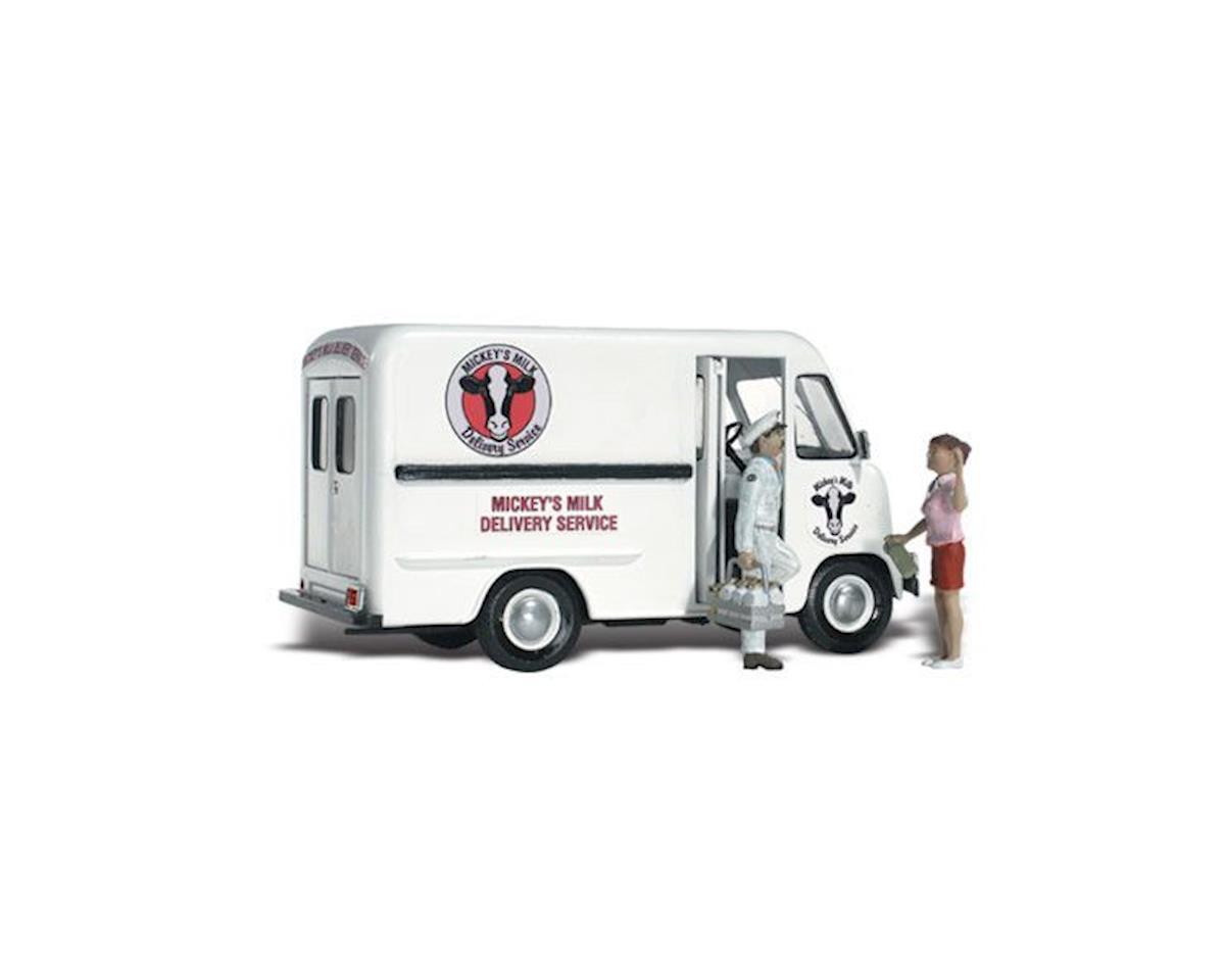 Woodland Scenics HO Mickey's Milk Delivery