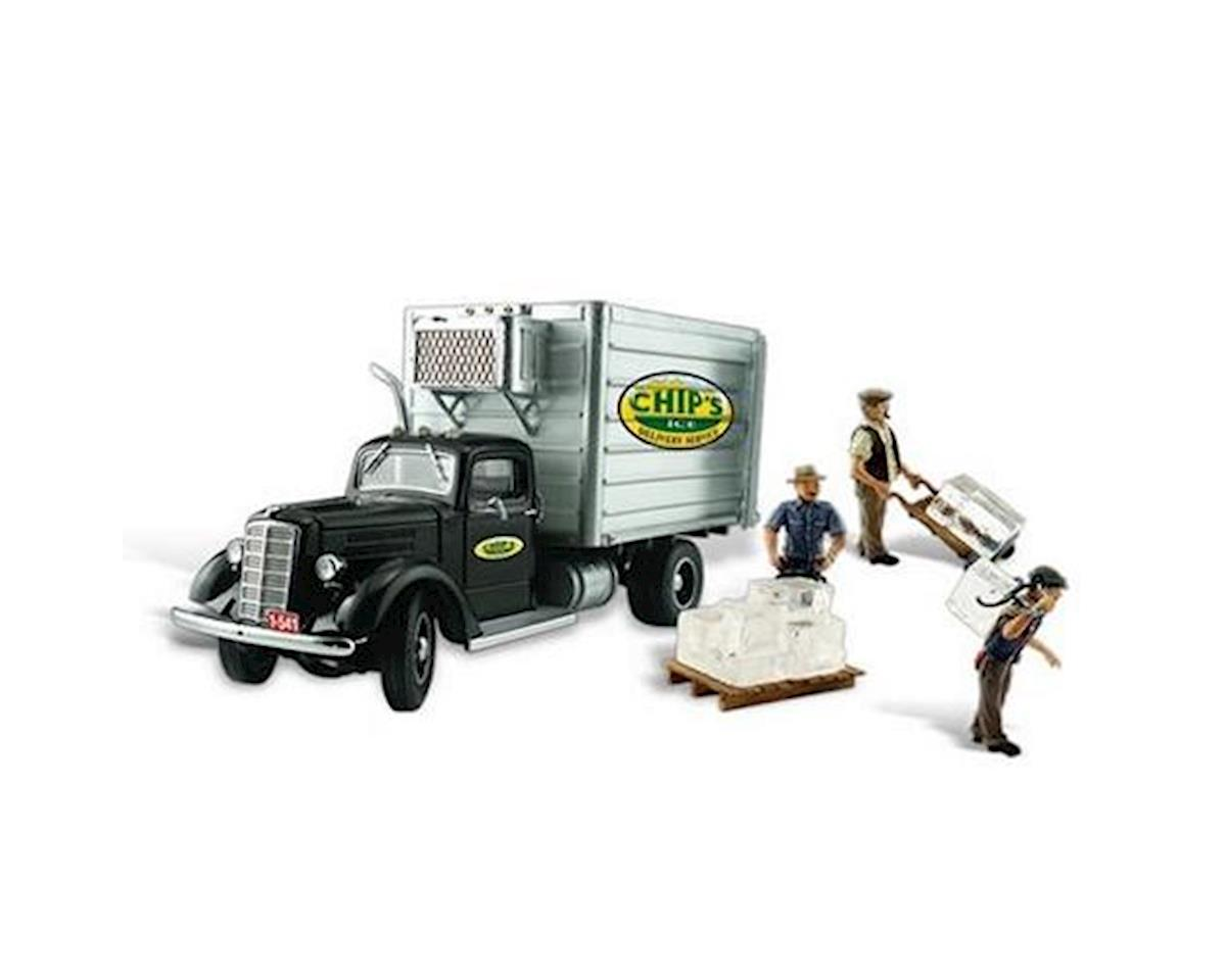 Woodland Scenics HO Chip's Ice Truck
