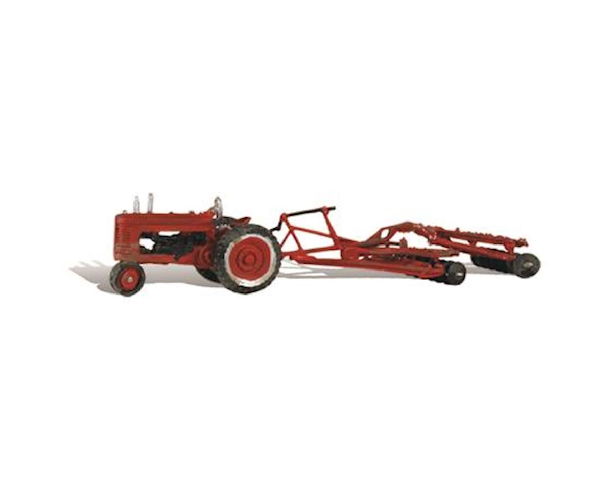 Woodland Scenics HO Disc & Tractor