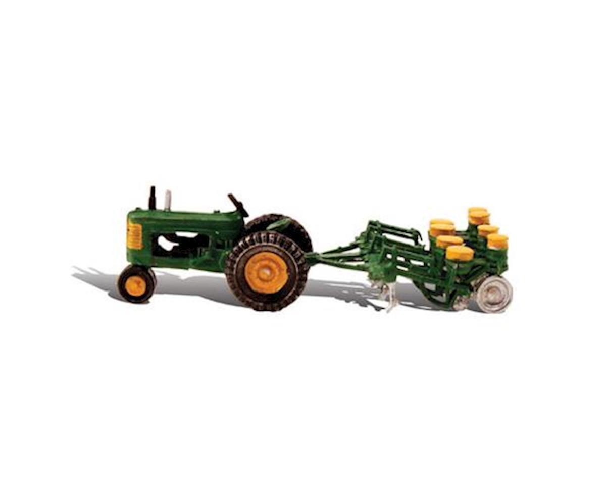 Woodland Scenics Tractor & Planter Autoscene HO