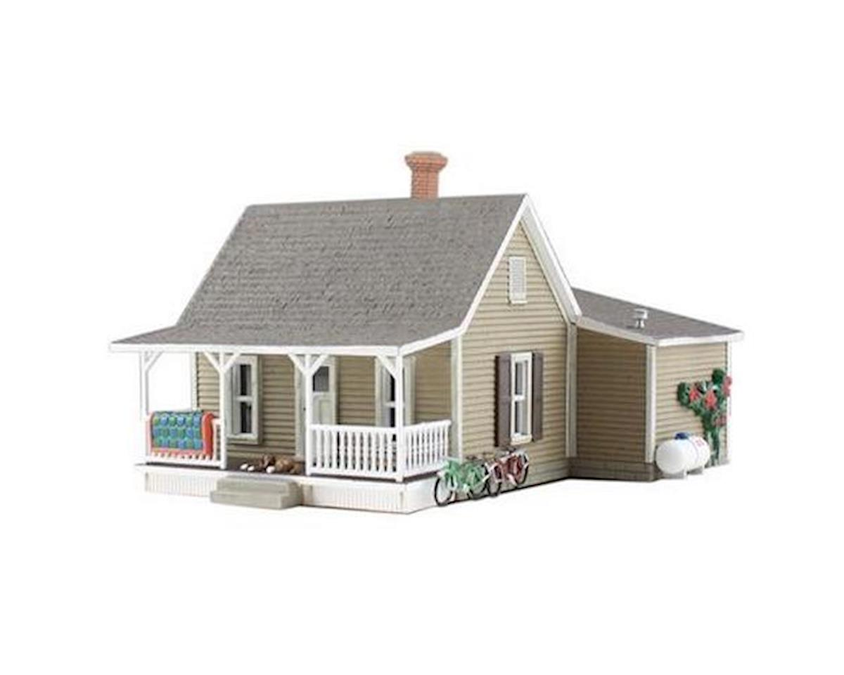 Woodland Scenics N Built-N-Ready Granny's 2-Story House