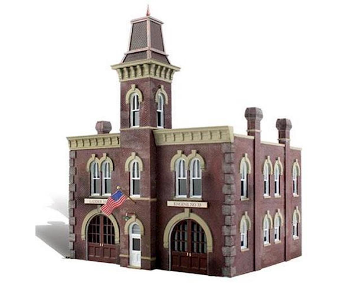 Woodland Scenics N Built-Up Firehouse