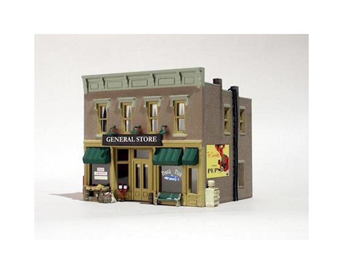 Woodland Scenics HO B/U Lubener's General Store
