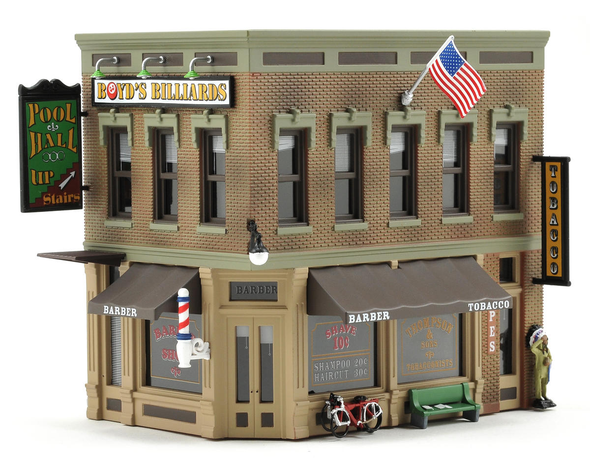 HO-Scale Built-Up Corner Emporium