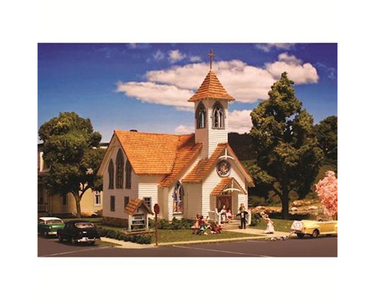 Woodland Scenics Community Church HO