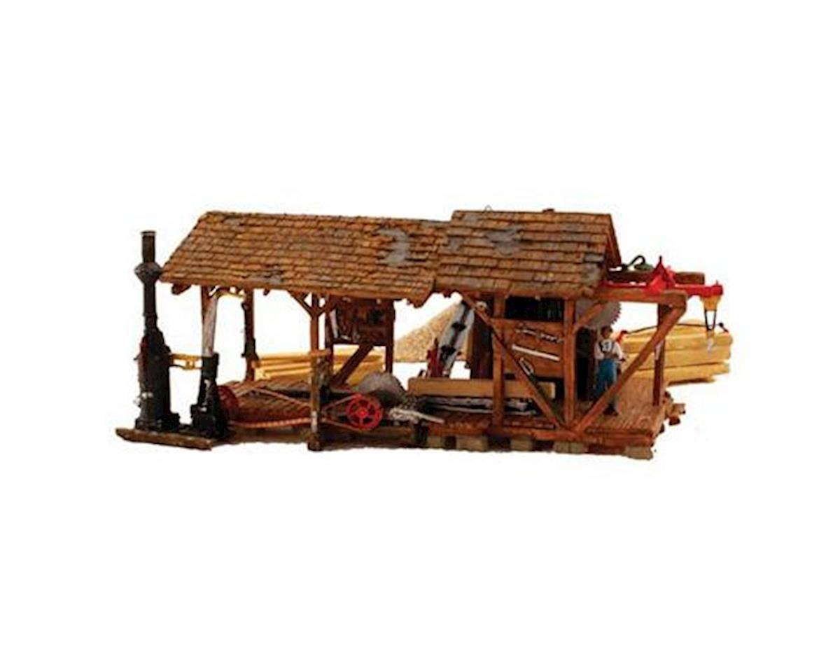 Woodland Scenics HO Built-Up Buzz's Sawmill