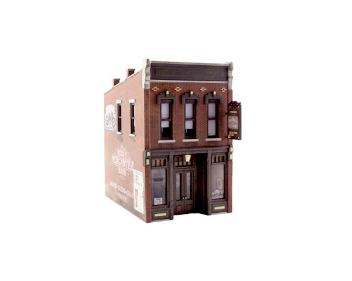 HO Built-Up Sully's Tavern by Woodland Scenics
