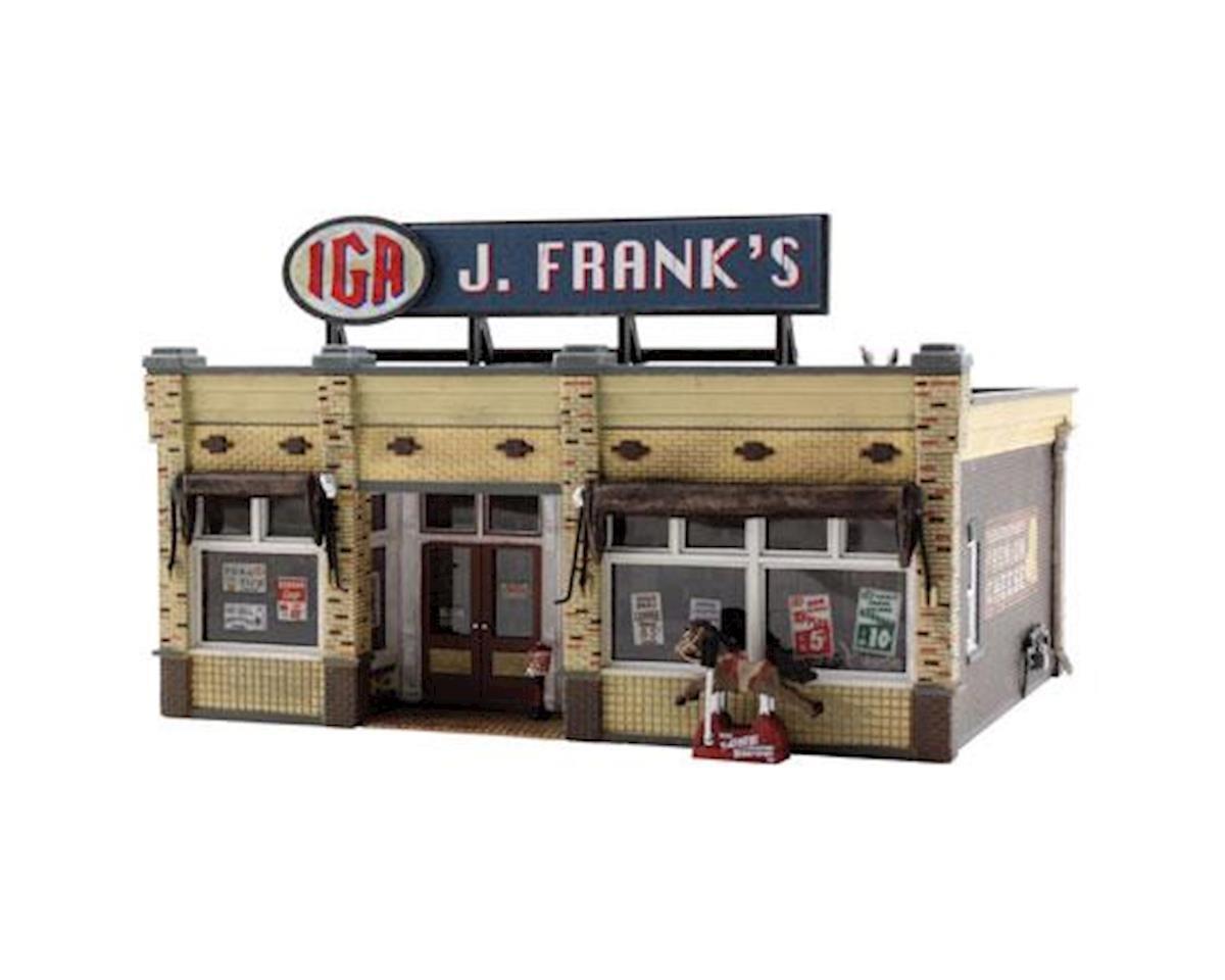 Woodland Scenics HO Built-Up J. Frank's Grocery