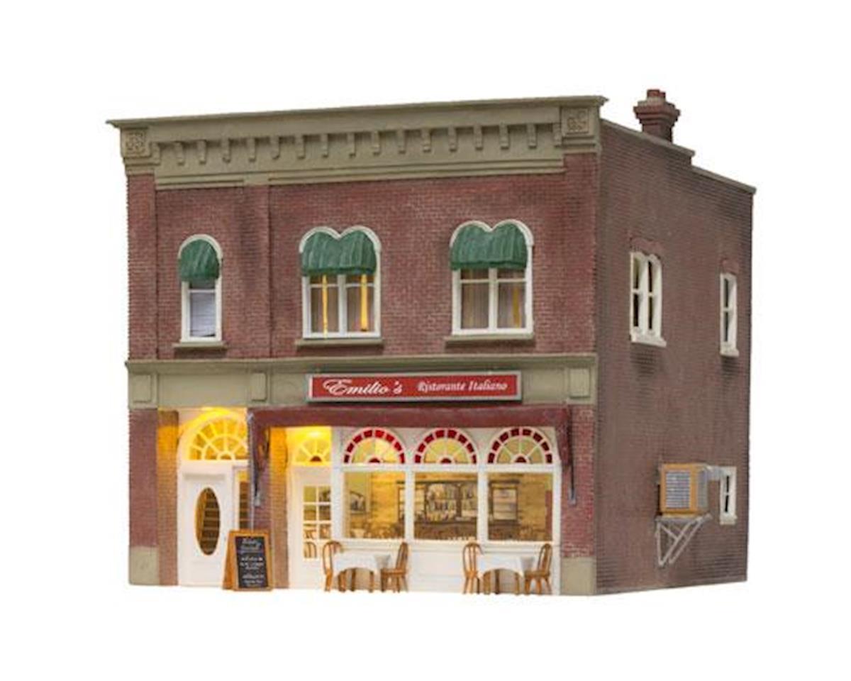 Woodland Scenics HO Built-Up Emilio's Italian Restaurant