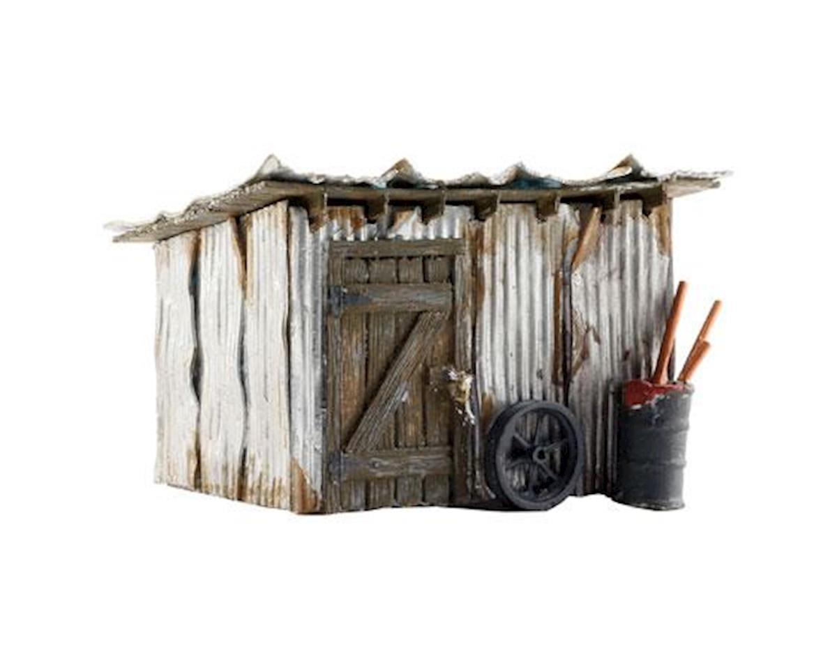Woodland Scenics HO Built-Up Tin Shack