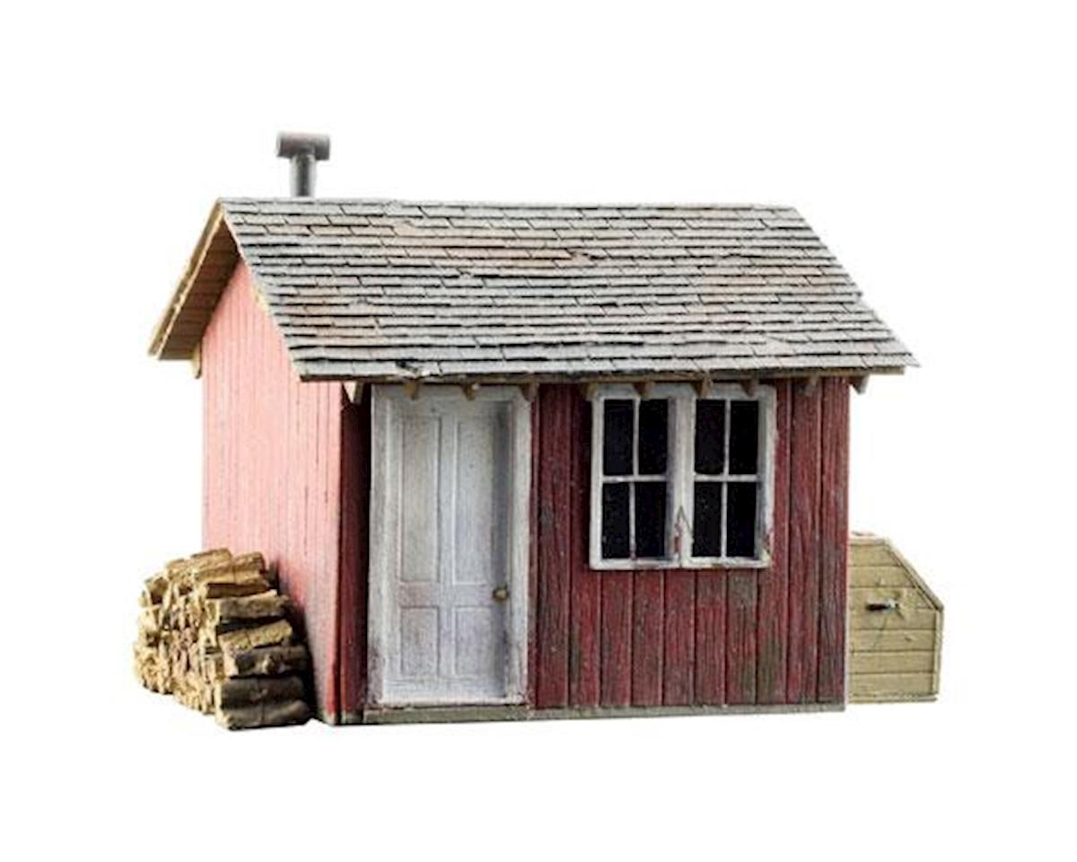 Woodland Scenics HO Built-Up Work Shed