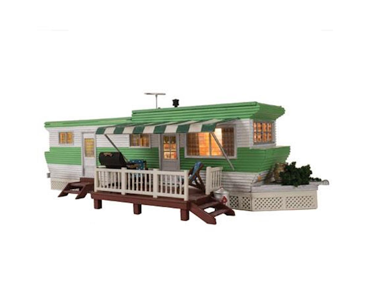 HO Built-Up Grillin' & Chillin' Trailer by Woodland Scenics