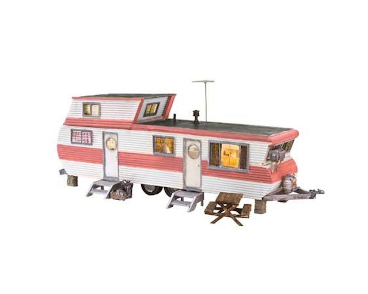 Woodland Scenics HO Built-Up Double Decker Trailer