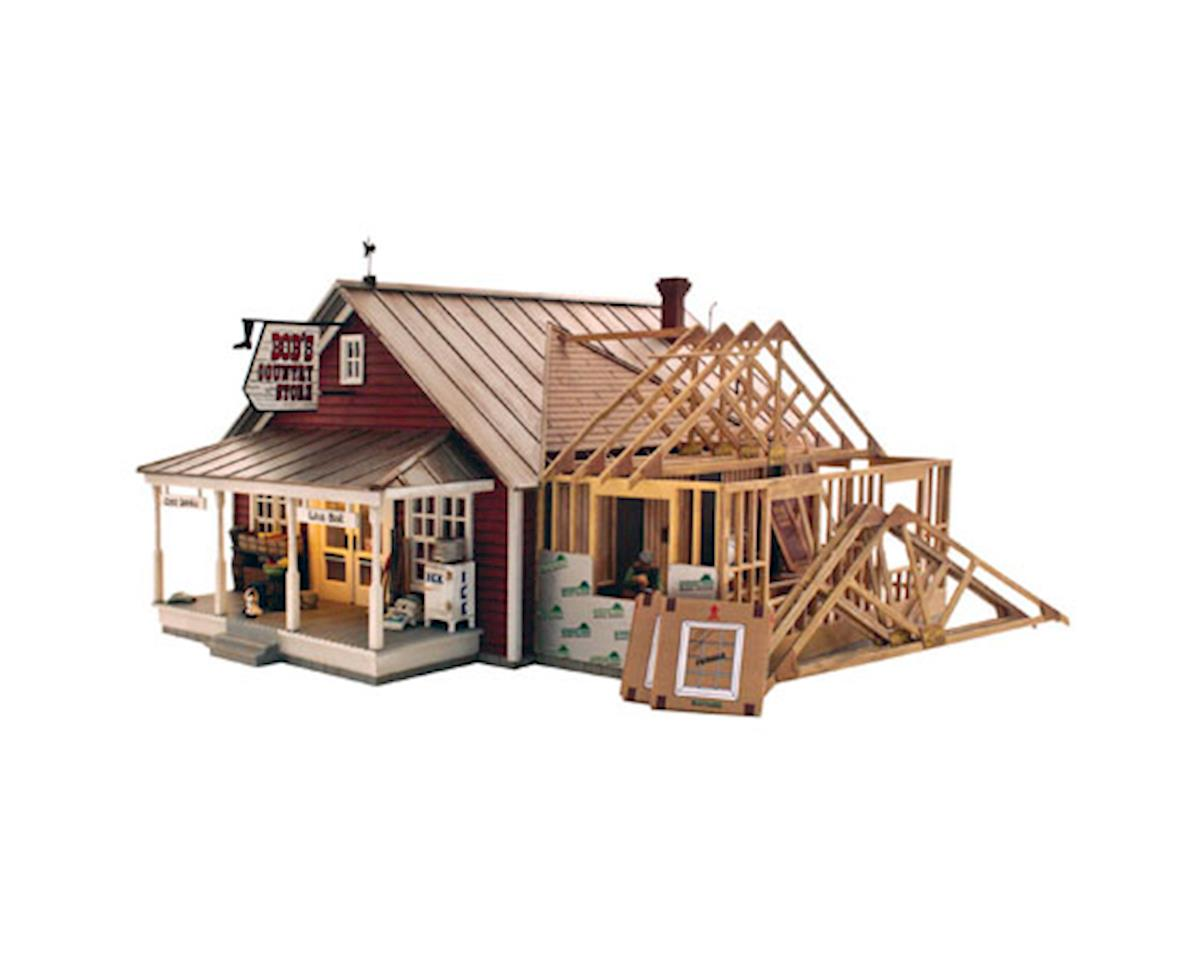 Woodland Scenics O Built-Up Country Store Expansion