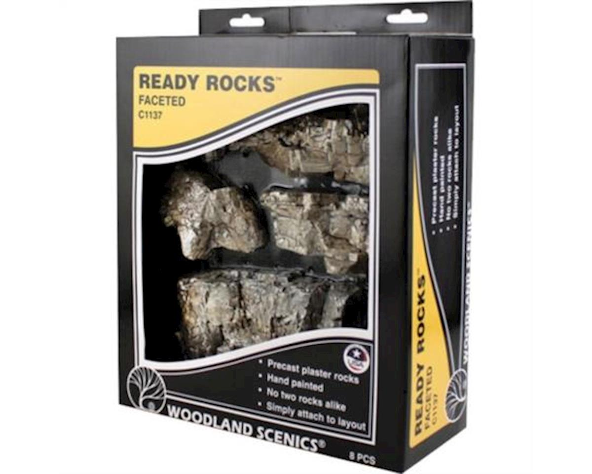 Woodland Scenics Ready Rocks, Faceted Rocks